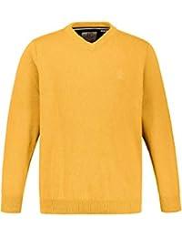 JP 1880 Pullover V-Ausschnitt Felpa Uomo