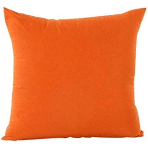 Malloom® Caramella Colore Cuscino Copertina Home Decor Federa Di Cotone