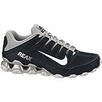 Nike REAX 8 TR Herren Tennisschuh, Mesh, schwarz (Black/Metallic silver-metallic Silver)
