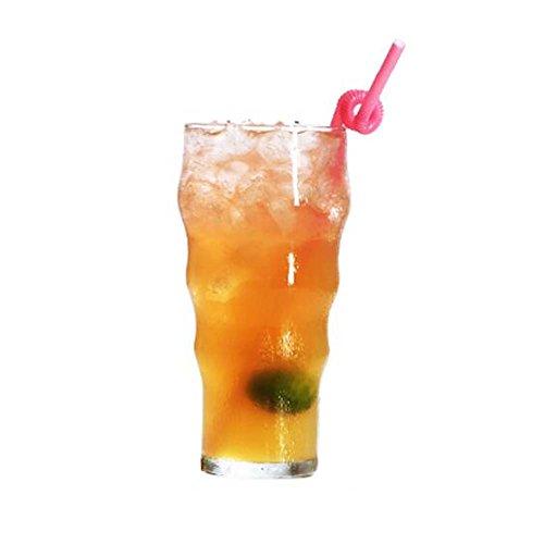 Black Temptation Elegante Goblet Party Gläser Heavy Base Saft Gläser Trinken Wein Cups, A 10