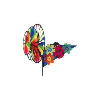 CIM Windspiel Triple Spinner Pink Ladybug