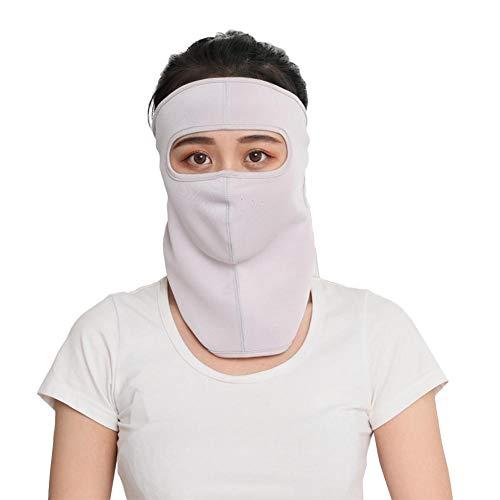Atmungsaktive Halsmaske Outdoor Anti-Uv-Sportmaske Sommer Sonnenschutzmaske Golf Sonnenschutzmaske Gesichtsmaske Solid Color Dust Proof