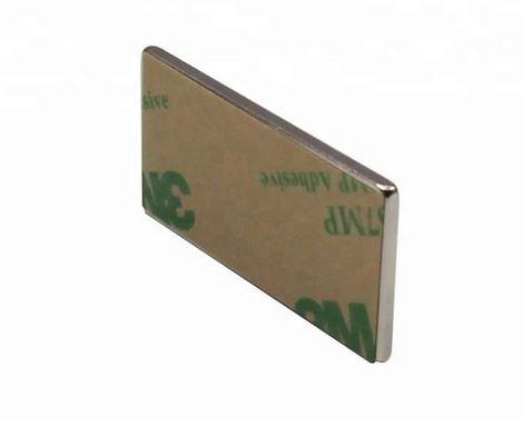 10 Stück selbstklebende Neodym Magnete N45 Rechteck 20x10x1 mm