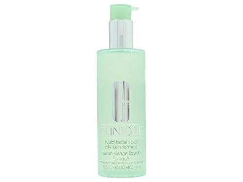 Clinique 3-Phasen-Systempflege Liquid Facial Soap unisex, Gesichtsseife, 1er Pack (1 x 400 ml) -