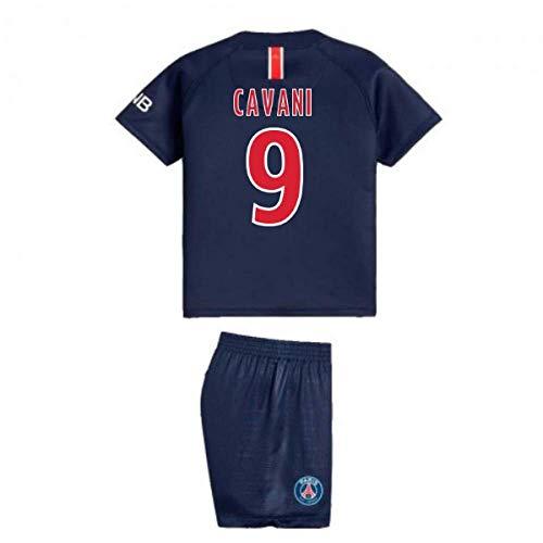 UKSoccershop 2018-2019 PSG Home Nike Baby Kit (Edinson Cavani 9)