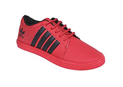 SPOTEK Kids Red Sneakers (Size_1)