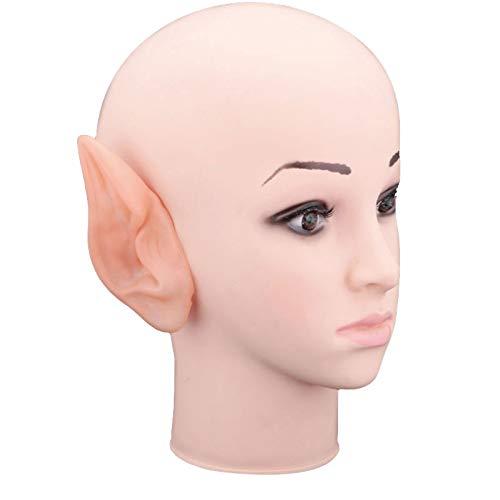 Elf Ohren, 2 Stücke Gefälschte Fee Elf Ohr Spock Hobbit Cosplay Kostüm Halloween Requisiten Decor Lustige Spielzeug Party Decoe