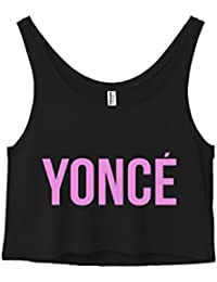 Yonce Surfboard Flawless No Angel Beyonce Cropped Tank
