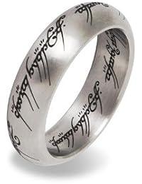 Herr der Ringe / Lord of the Rings - Der Eine Ring Edelstahl in prächtigem Metall Schmuckdisplay