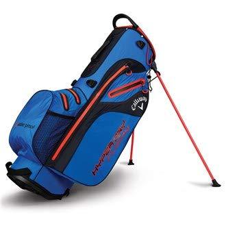 adidas CG Bg St Hyper Dry Fusion Bolsa para Carrito de Golf, Unisex Adulto, Royal Blue/Nego/Rojo, Talla Única