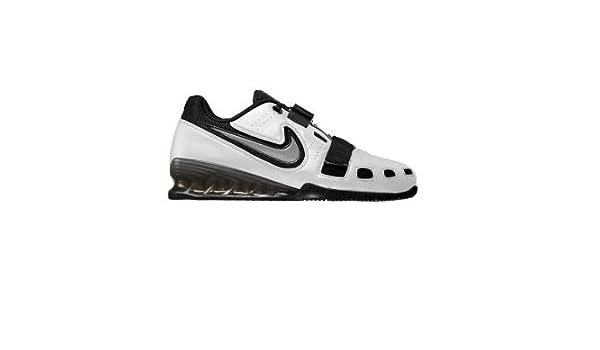 eccaa8aba638 Nike Romaleos 2 Weightlifting Shoes White Size 10 UK (11 US)  Amazon.co.uk   Shoes   Bags