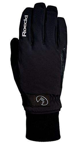 Roeckl Vermes GTX® Winter Fahrrad Handschuhe schwarz: Größe: 8.5