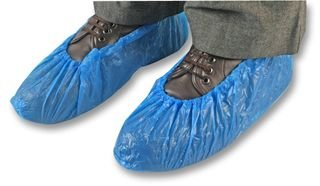 DISPOSABLE OVERSHOE - BLUE (PK 100) 16610 - BLUE By Best Price Square Overshoe Overshoe