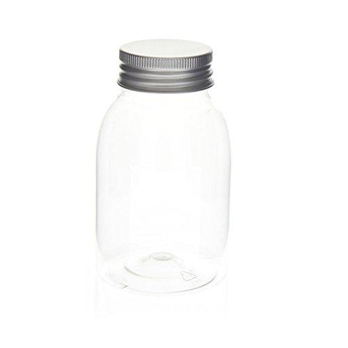 Flacon cristal + fermeture alu 250 ml