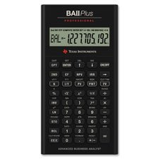 Calculator Professional Business (PLUS Professional Taschenrechner, 32 Cash fließt, 7,6 x 15,2 cm X3/12,7 cm BK)