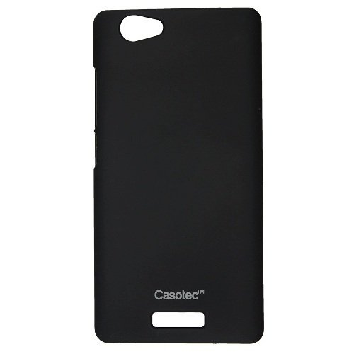 Casotec Ultra Slim Hard Shell Back Case Cover for Gionee M2 - Black  available at amazon for Rs.175