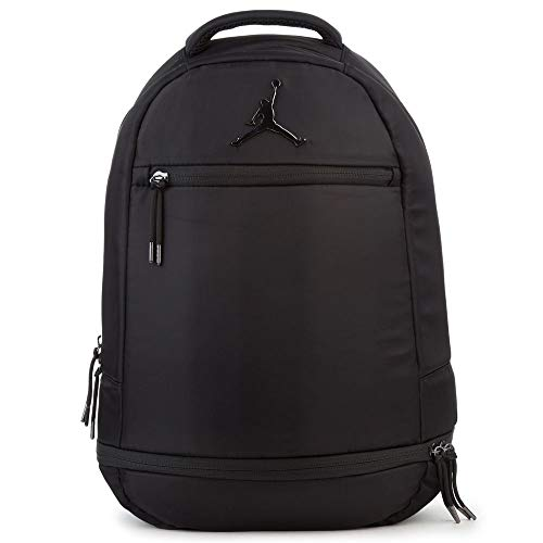 Jordan 9A1967-023 Skyline Flight Black Backpack (Jordan Schuhe Rucksack)