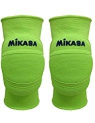 Mikasa Ginocchiera volley Premier MT8, verde fluo, XS