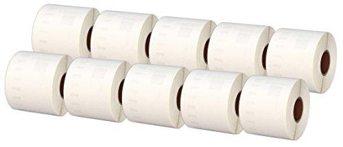 Compatibile per Dymo LabelWriter 4XL 450 400 330 320 310 Twin Turbo Duo Seiko SLP 450 400 240 200 120 100 Pro etichetta per Rotolo: 220 Printing Pleasure Kit 3 99014 54mm x101mm Etichette Adesive