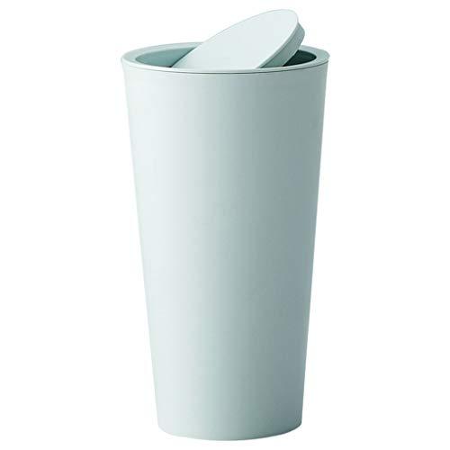 Mini-Mülleimer, Colorful Kreativer Schreibtisch-Abfalleimer, Aufbewahrungsbox für Zuhause, Plastik, 16.5CMx8CM (Grün)