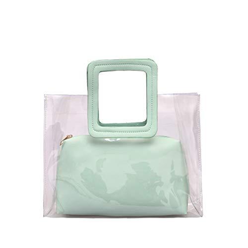 Sac bandoulière Sac bandoulière femme Wild Cute transparent  Le sac est parfait pour le traitement. Le design élégant peut montrer votre beau tempérament.  Un design plus humanisé pour vous. Il est très approprié pour les mariages, les fêtes, les bal...