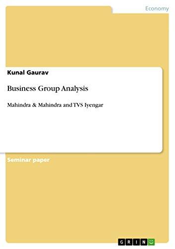 Business Group Analysis: Mahindra & Mahindra and TVS Iyengar
