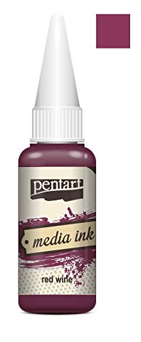 Mixed Media Tinte 20ml - red Wine. Media Ink, Alcohol Ink, Farbtinte -