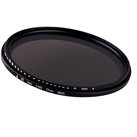 rybyte (TM) – 77 mm Fader Variabile Filtro ND regolabile ND2 a ND400 densità neutra