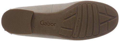 Gabor Comfort Sport, Mocassini Donna Beige (Leinen)