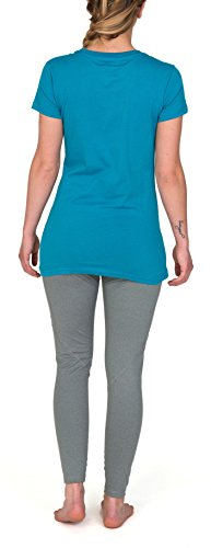 Burton wB lG vTL fll t-shirt à manches courtes pour homme Large Bleu - bleu émail