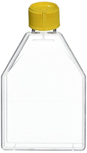 TPP TECHNO PLASTIC PRODUCTS 009076 Tissue culture flask with tilting neck with filter cap 75cm² TPP - bag of 5 (Pack of 5)
