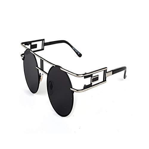 Sportbrillen, Angeln Golfbrille,NEW Metal Frame Steampunk Sunglasses Women Brand Designer Unique Men Gothic Sun Glasses Vintage Oculos De Sol Feminino 8 Color C91