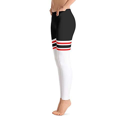 Beasts & Beauties Leggings Damen Sport Leggings Yoga Fitness Hose Damen Laufhose (Weiß, S) - Bombshell Damen Hosen