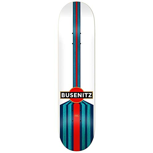 bb0f2b61c2781 REAL Skateboard Deck Busenitz Speed - 8.25 Inch Blanco (Default, Azul)