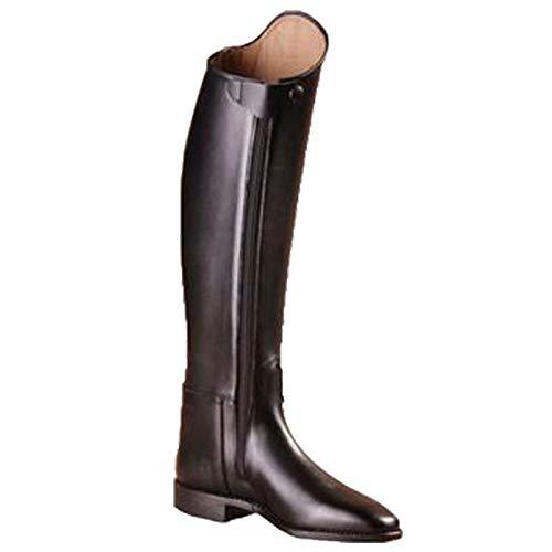 Cavallo - Stivali da equitazione Grand Prix Plus in nappa, gambale alto, Nero (nero), 38 XLW (GB 5) Höhe 50 Wade 37 cm