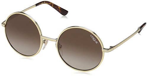 Vogue Eyewear Damen 0VO4085S 848/13 50 Sonnenbrille, Pale Gold/Browngradient