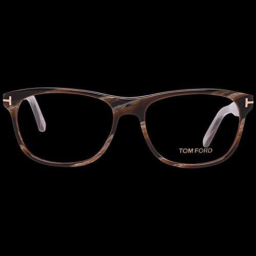 Tom ford optical frame ft5431 062 55 montature, marrone (braun), uomo