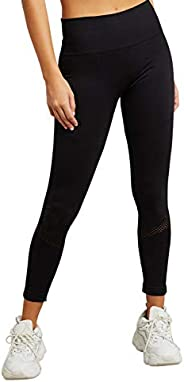 Cut-Out Detail Solid Active Leggings 30366801 For Women Closet by Styli