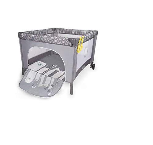 Lionelo Stella - Cuna de Viaje, Parque para bebé, Desde el Nacimiento hasta 15 kg, Bolsa de Transporte, mosquitera, Color Beige