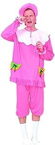 Reír Y Confeti - Fiabab001 - Disfraz Para Adultos - Disfraz rosa bebé - Talla M