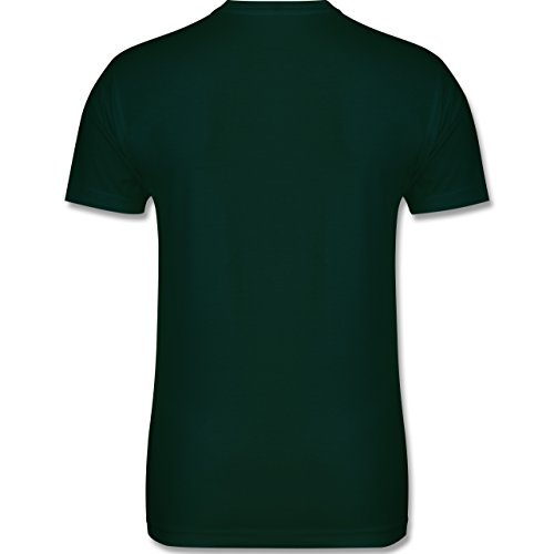 Statement Shirts - Läuft. - Herren Premium T-Shirt Dunkelgrün