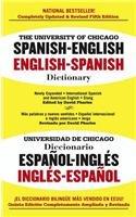 University of Chicago Spanish-English/English-Spanish Dictionary