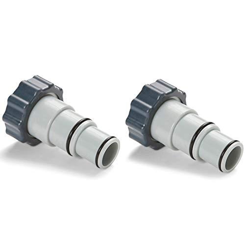Intex Ersatz-Schlauchadapter A mit Manschette für Gewindeanschlusspumpen (Paar)