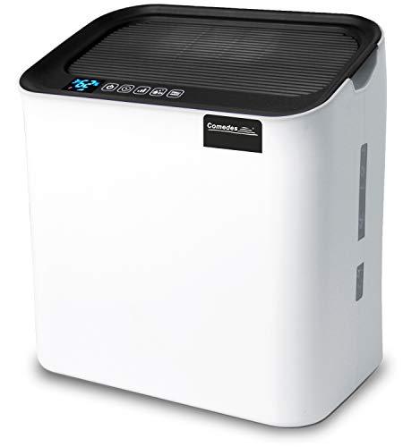 Comedes Hildegard LW360 - Hochwertiger Luftwäscher & Luftbefeuchter, Aktivkohlefilter & HEPA-Element, weniger Keime bis 81 m³