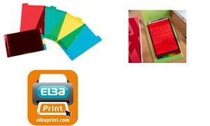 ELBA Intercalaires PVC translucide 4 positions 210 x148mm A