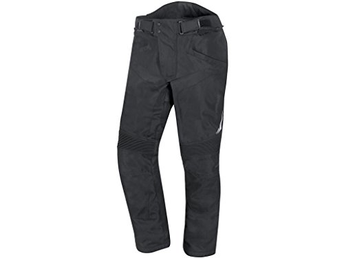 GERMOT Motorradhose TREVISO Textilhose schwarz Damen Motorrad Hose Damenhose wasserdicht Größe 36