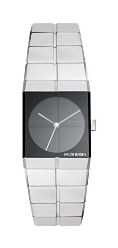 Jacob Jensen Womens Analogue Quartz Watch with Stainless Steel Strap 220