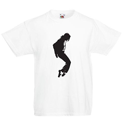 Camisas para niños Me Encanta MJ - Ropa de Club de Fans, Ropa de Concierto (12-13 Years Blanco Negro)