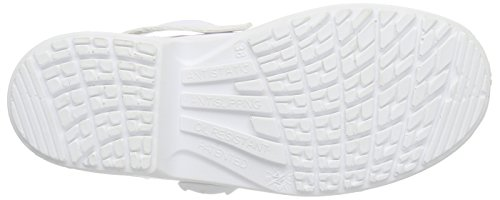 MTS - Sicherheitsschuhe Base Mediform-si-pantolette 7500, Scarpe antinfortunistiche Unisex – Adulto Bianco (Bianco)