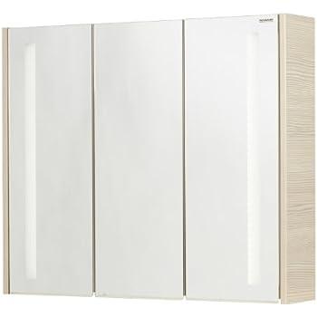 FACKELMANN Spiegelschrank, Holz, Pinie, 16 x 79,5 x 67 cm: Amazon ... | {Spiegelschrank holz 22}